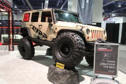 Ripp superchargers JK Jeep Wrangler at 2016 SEMA show