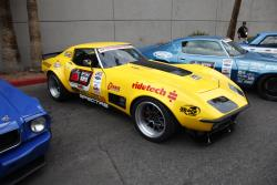 Chris Smith's 1972 Chevrolet Corvette at the 2016 SEMA show