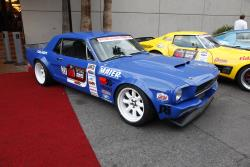 Mike Maier's 1966 Ford Mustang at 2016 SEMA show