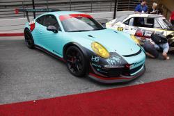 Scottie Burrough's Porsche 911 GT3 at the 2016 SEMA show