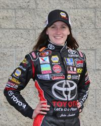 K&N Pro Series and NASCAR Next driver Julia Landauer