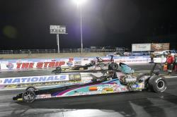 K n 39 s own steve williams finishes third in super comp for Las vegas motor speedway drag strip