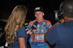 Riley Herbst interview with NBCSN after race