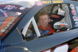 NASCAR K&N Pro Series driver Riley Herbst in car
