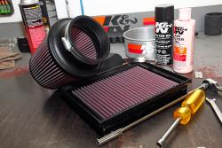 K&N replacement air filters can give your muscle car a boost in airflow while protecting your engine