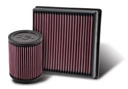 Whether your truck is for the street or off-road, K&N replacement air filters can help it breath