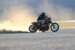 One Wheel Revolution's Trackster roosting in the desert