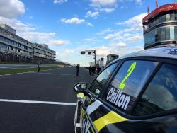 Tom Chilton in the Power Maxed Racing Vauxhall Astra took third in the final race of the BTCC opener