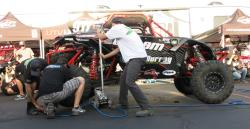 The Murray Race Team Pit Crew at the UTV World Championship in Laughlin, Nevada