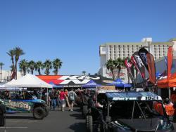 K&N tent at the UTV World Championship in Laughlin, Nevada