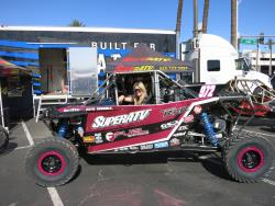 Katie Vernola at the UTV World Championship in Laughlin, Nevada
