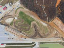 Lucas Oil Off Road Racing Series' track under construction in Wheatland, Missouri.