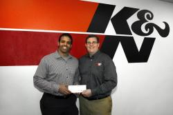 Earlier this year, K&N donated $100,000 to Fallen Patriots and made them their primary charity partner