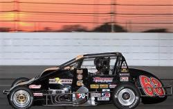 The 63 car Kody races in Pavement Silver Crown events for DePalma. (Credit: Chris Pedersen)