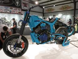 """SM 750"" by Ken Kodlin Harley XG 750 Street at the Motorcycles as Art show"