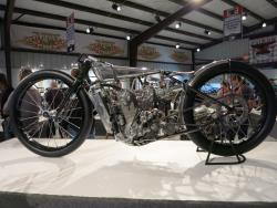 """Supercharged KTM"" by Max Hazan at the Motorcycles as Art show in Sturgis, South Dakota"