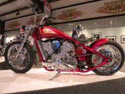 """Project Princess"" by Karlee Cobb at the Motorcycles as Art show in Sturgis, South Dakota"
