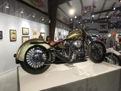 """Type 57X"" by Terence Musto at the Motorcycles as Art show in Sturgis, South Dakota"