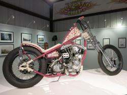 """Pipe Hitter"" by Nicholas Pensabene at the Motorcycles as Art show in Sturgis, South Dakot"