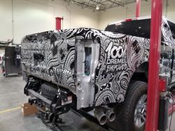 The Hanro Aluminati show truck will be on display at the 2017 SEMA Show in Las Vegas