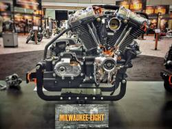 Harley Milwaukee-Eight engine view