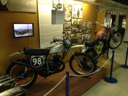 Steve McQueen display at the San Diego, California Automotive Museum