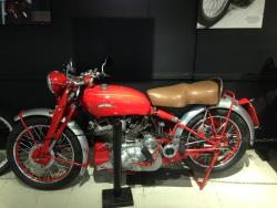 1950 Vincent Series C Rapide at the San Diego, California Automotive Museum