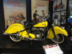 1947 Indian Chief at the San Diego, California Automotive Museum