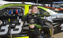 Nicole Behar, NASCAR, K&N Pro Series West, Colorado National Speedway