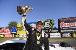 Pro Stock Driver Bo Butner takes home his fourth Wally in Pro Stock at Maple Grove Racway