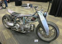 DWH Designs Ducati side view at the Artistry in Iron at Bikefest in Las Vegas, Nevada
