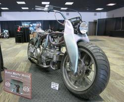 DWH Designs Ducati froont view at Bikefest in Las Vegas, Nevada