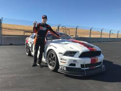 In additon to the K&N Mustang, Walton races his own Fox body Mustang in AI