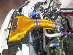 The intake is a design that will influence future K&N cold air intake systems