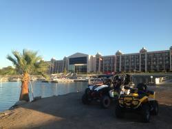 The BlueWater Resort in Parker, Arizona hosts BITD racing