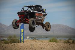 Davi Haagsma jumping in the WORCS series in Lake Havasu City, Arizona