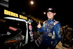 Derek Kraus of Bill McAnally Racing won the NASCAR K&N Pro Series West rookie of the year