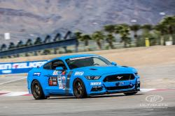 Photo of Mike Maier on the road course at Las Vegas Motor Speedway