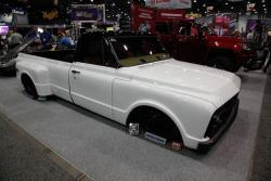 For the third year Finish Line Speed Shop brought to SEMA a custom vehicle for a charitable cause