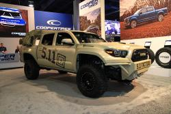 The truck even features 5.11 Tactical fabric covering the seating surfaces
