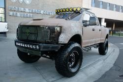 Chris Kyle drove a Ford pickup so the builders thought an F-250 a fitting tribute