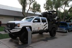 Rockstar Garage wanted to build a truck that carried a UTV lower, to have less impact on handling