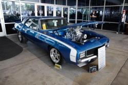 "The ""Double Take"" 1969 Chevrolet Camaro is owned by Michelle and Brian Klein"