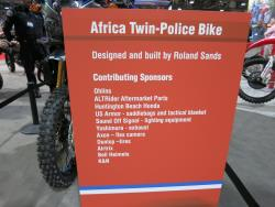 Partners in the RBPD Africa Twin project at the Long Beach, California IMS