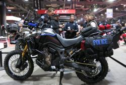 The Roland Sands Honda Africa Twin at the Long Beach International Motorcycle Show