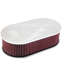 66-1460 K&N Oval Air Filter Assembly