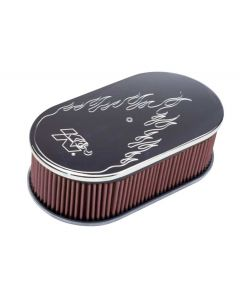 66-1470 K&N Oval Air Filter Assembly