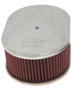 66-1520 K&N Oval Air Filter Assembly