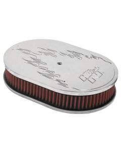 66-1530 K&N Oval Air Filter Assembly