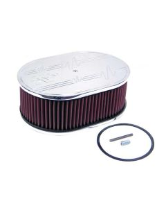 66-1560 K&N Oval Air Filter Assembly